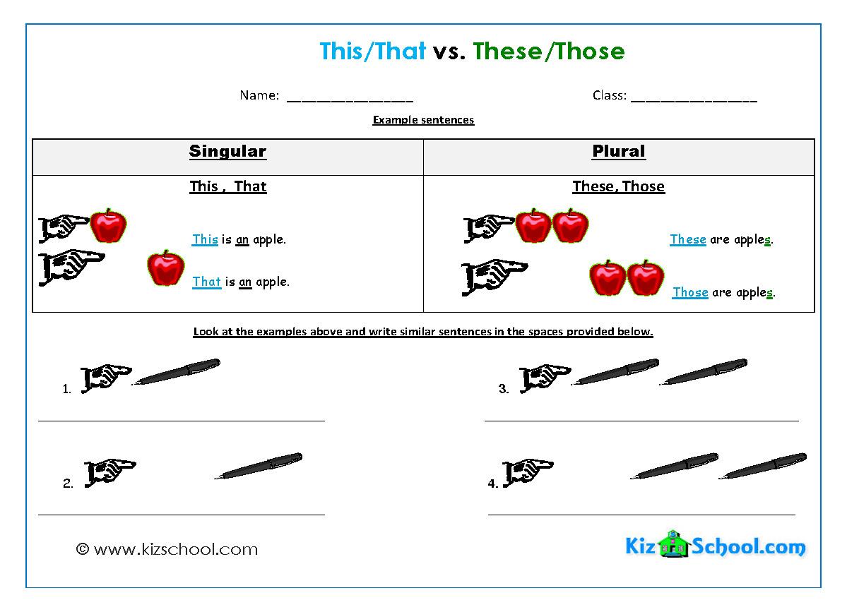 Simple Sentences Worksheets | Fioradesignstudio